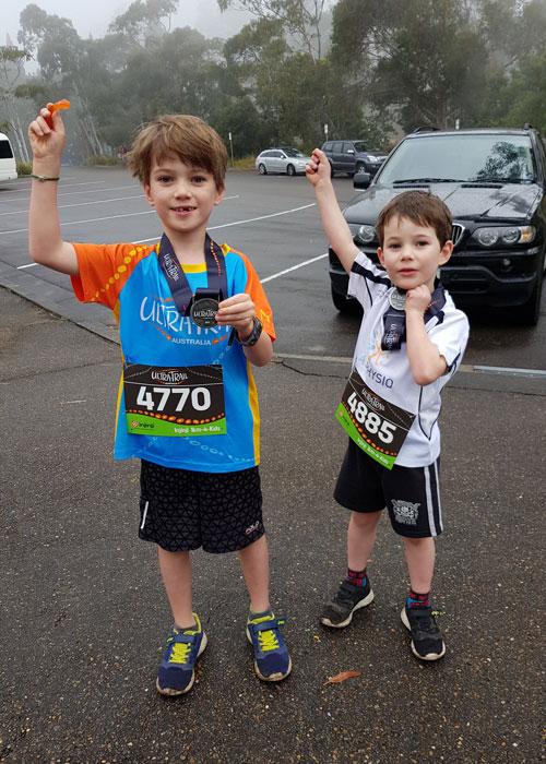 Ultra Trail Junior Runners