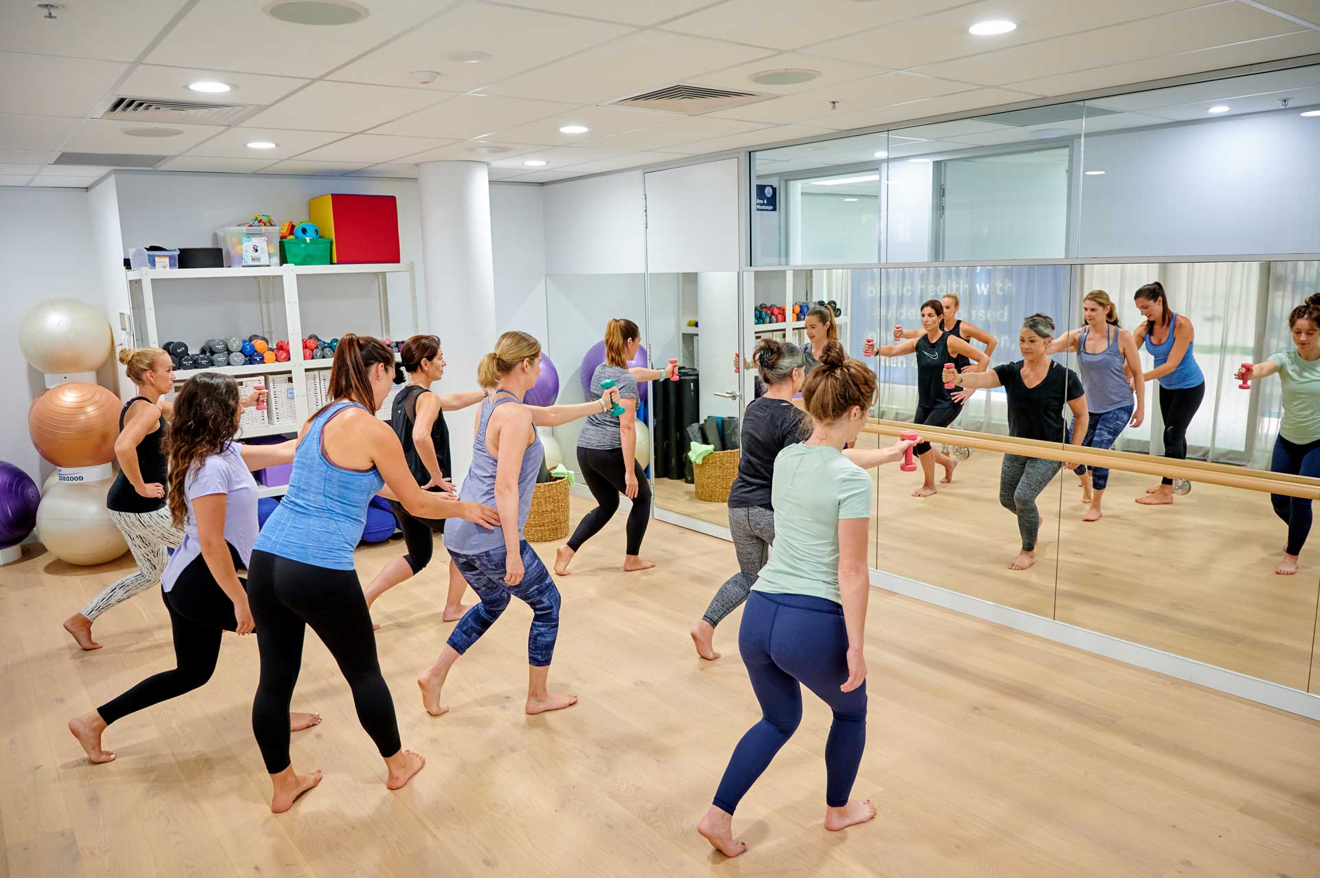Physio-led exercise classes